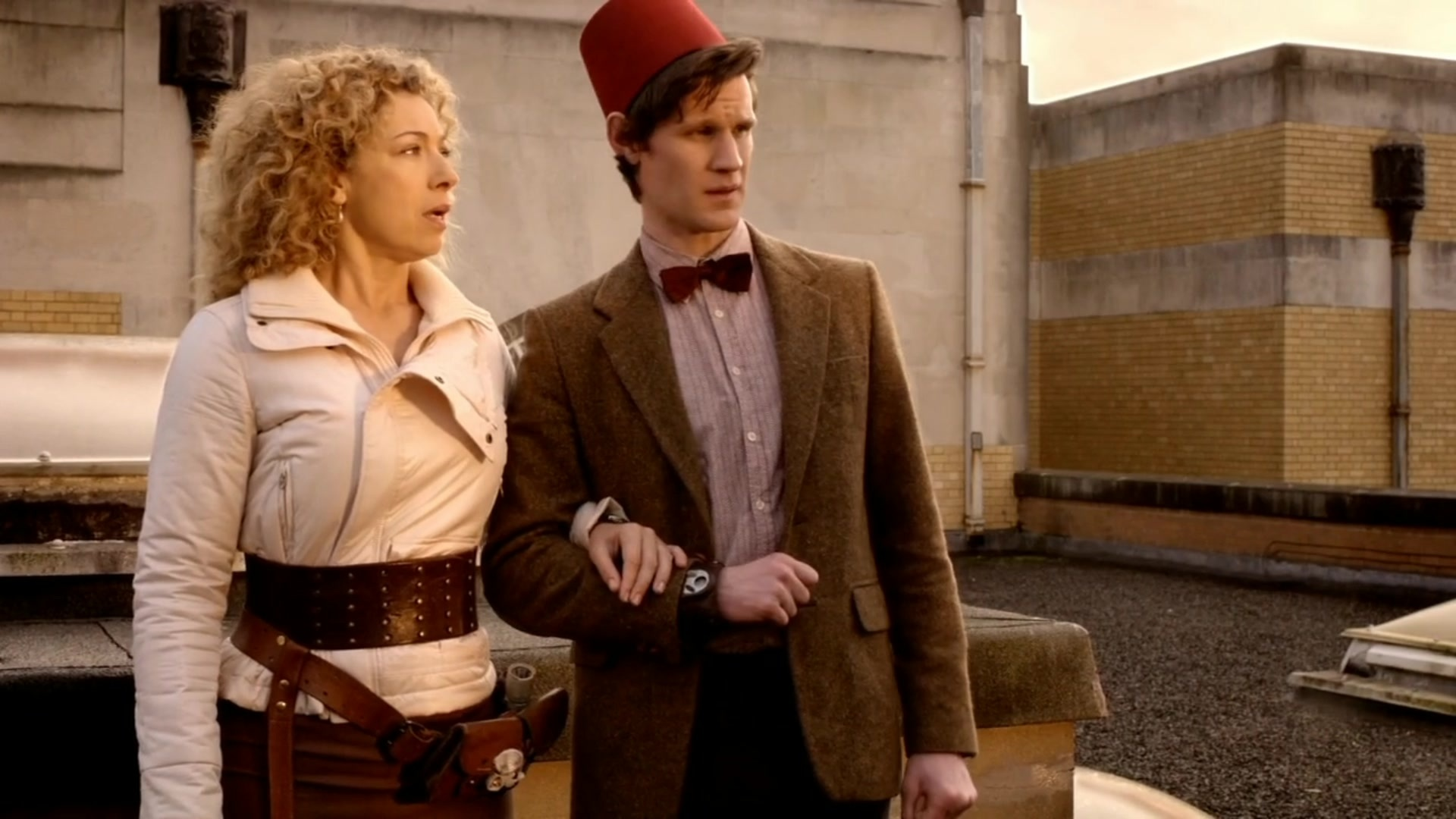 River Song et le 11ème Doctor