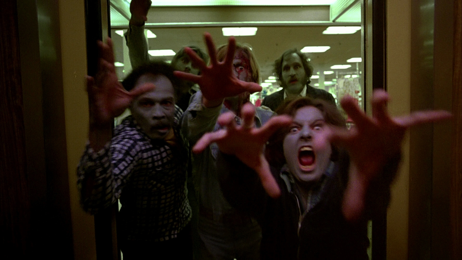 Image du film de 1978 de George Romero : Zombie - Dawn of the Dead