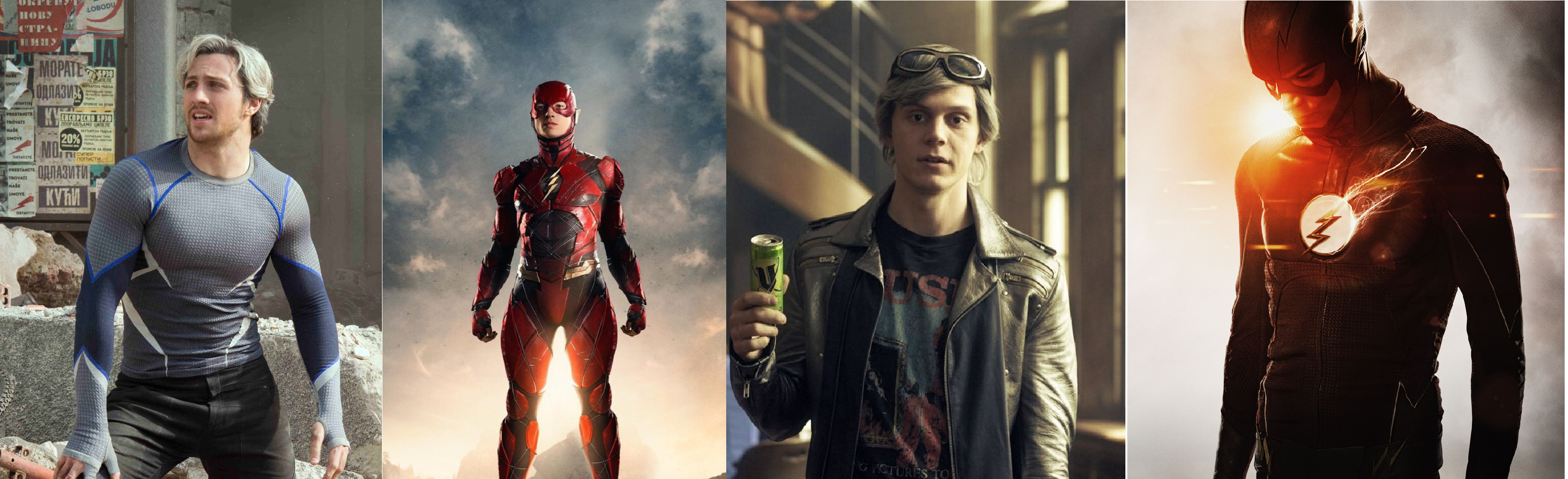 Couverture du premier IRL sur The Flash et Quicksilver