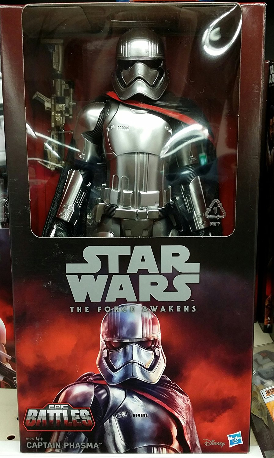 Figurine du Capitaine Phasma