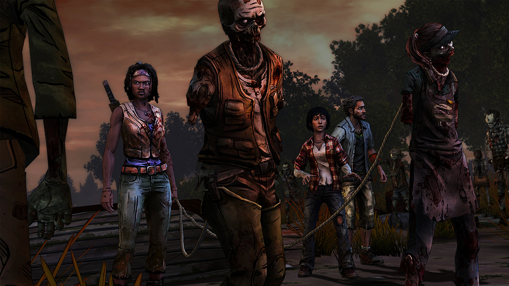 Image du jeu vidéo The Walking Dead : Michonne de Telltale Games