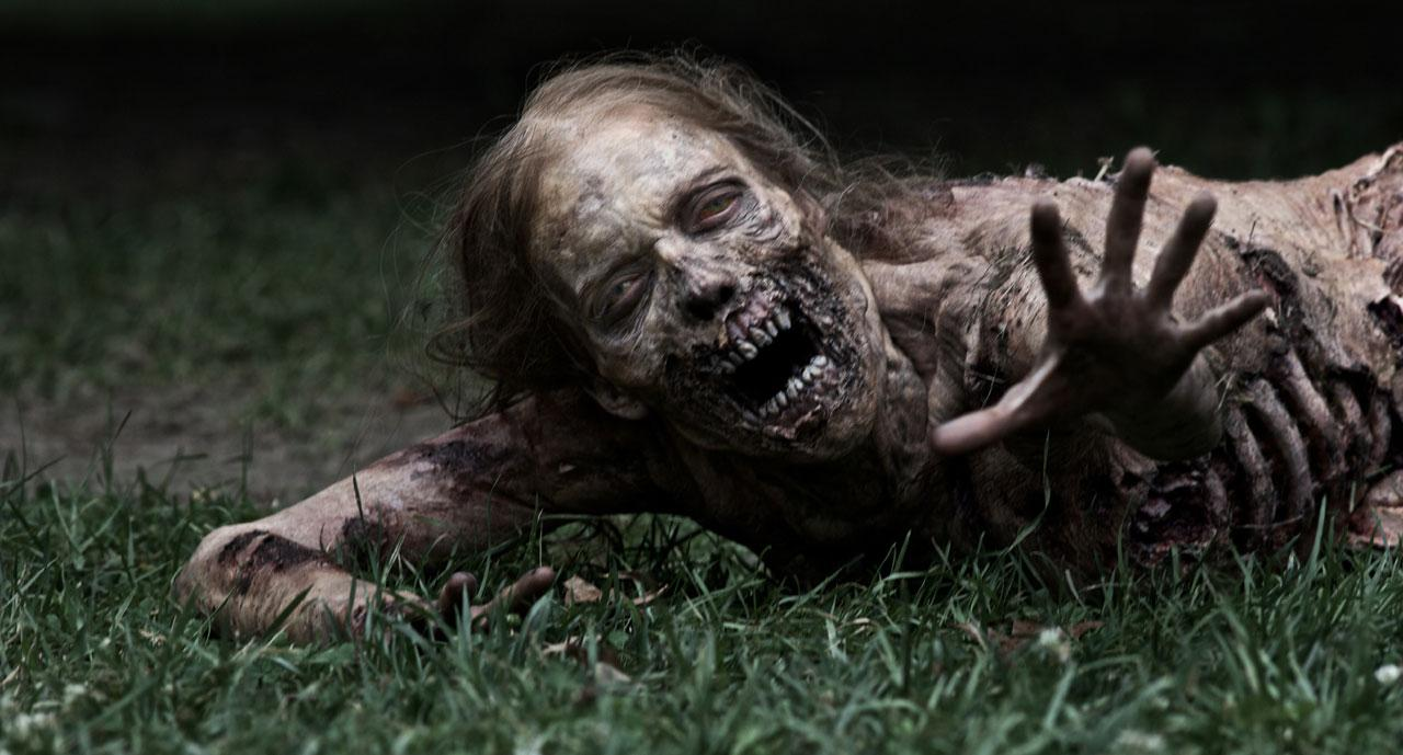 Image de Bicycle Girl, l'un des zombies de la saison 1 de The Walking Dead