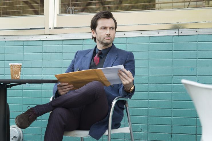 David Tennant joue Killgrave, dans la série Jessica Jones