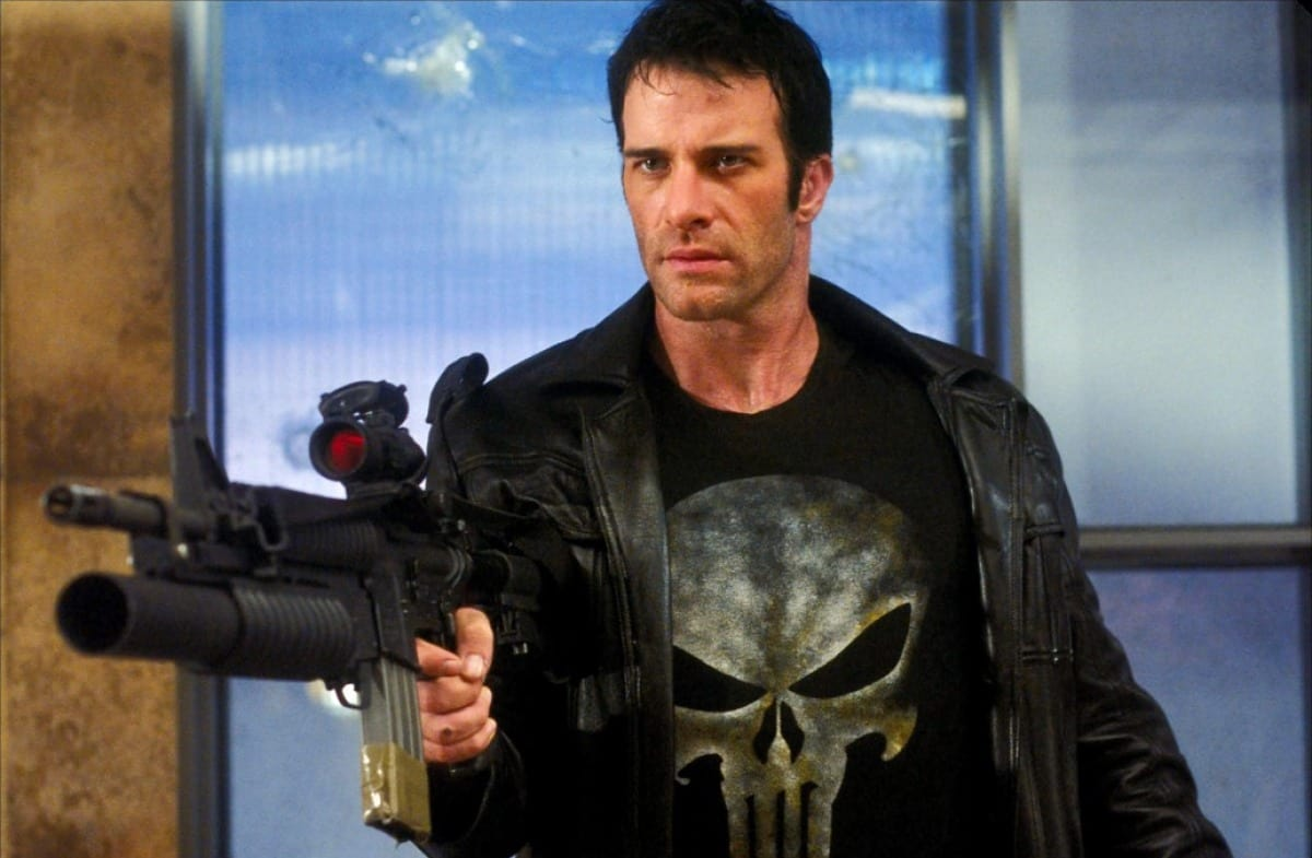 Thomas Jane joue le Punisher, dans le film Punisher, 2004