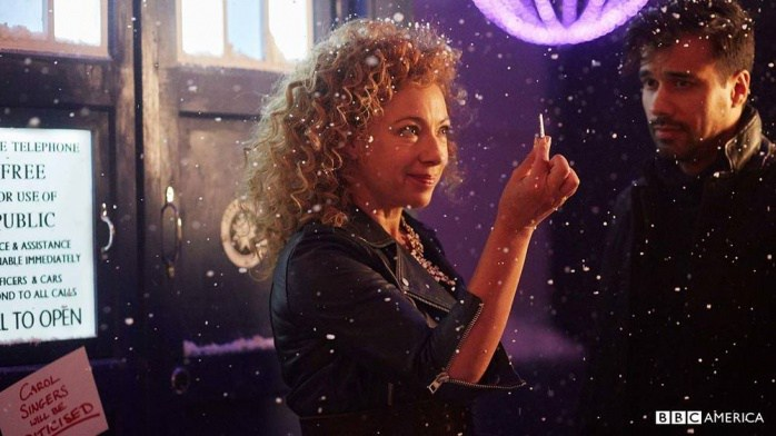 River Song et le TARDIS