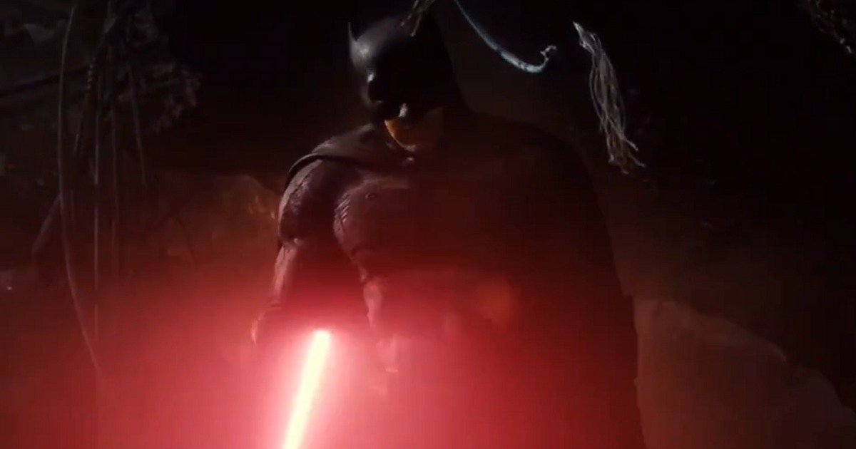 Dark Side Knight v Superjedi – Dawn of the Alliance : Un mashup entre Batman V Superman et Star Wars réalisé par Zack Snyder
