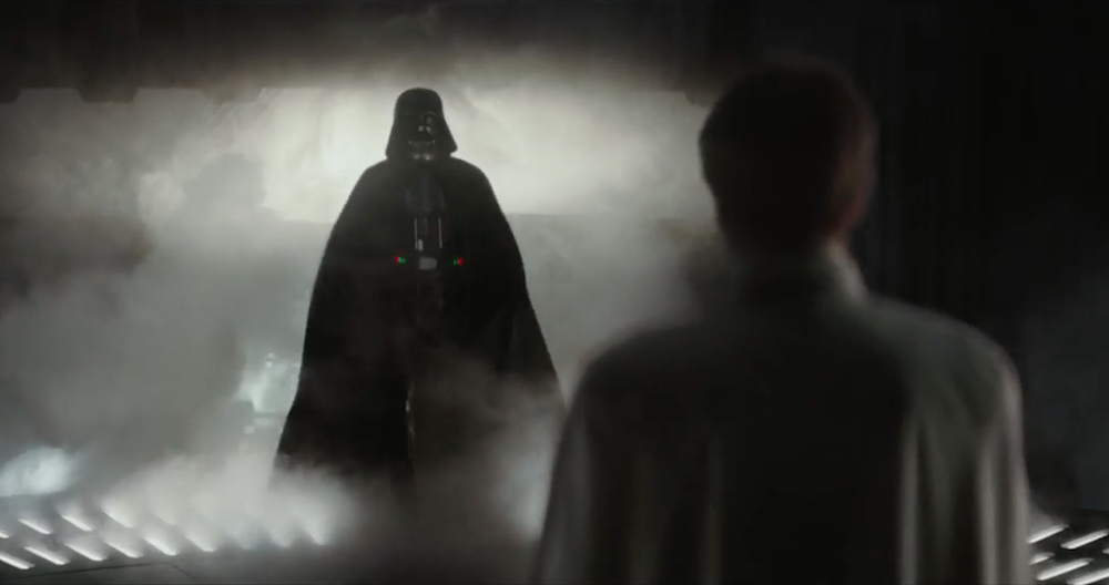 Dark Vador dans Star Wars Rogue One de Gareth Edwards