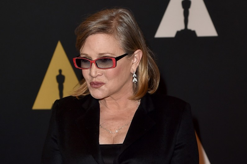 Carrie Fisher en 2016
