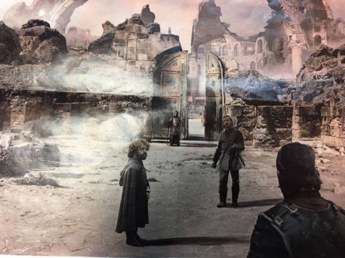 Concept-art du dernier épisode de la saison 7 de Game of Thrones