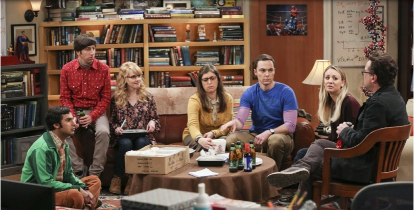 Image de promotion de l'épisode 14 de la saison 10 de The Big Bang Theory