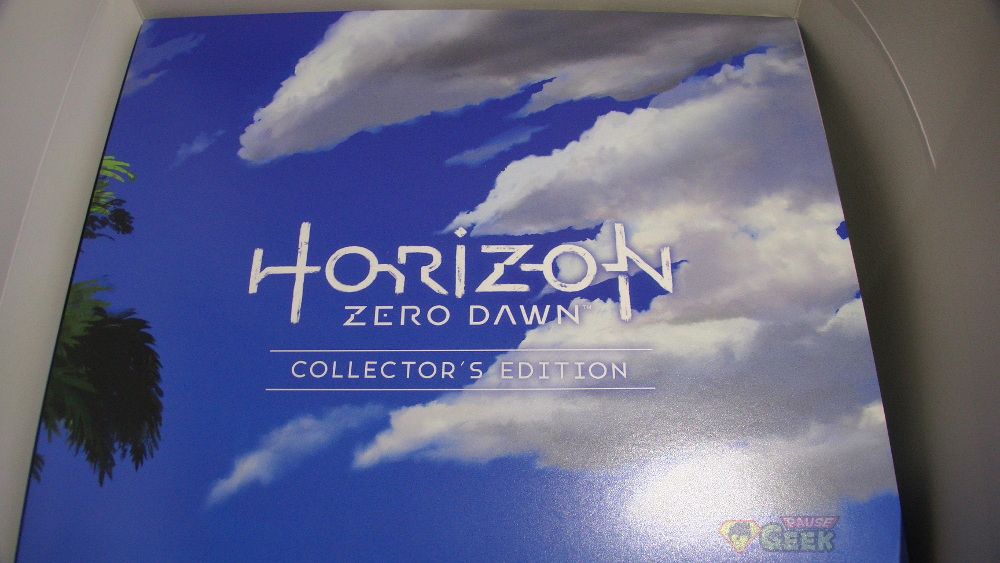 Image de la seconde boîte de la version collector du jeu Horizon Zero Dawn sur PS4