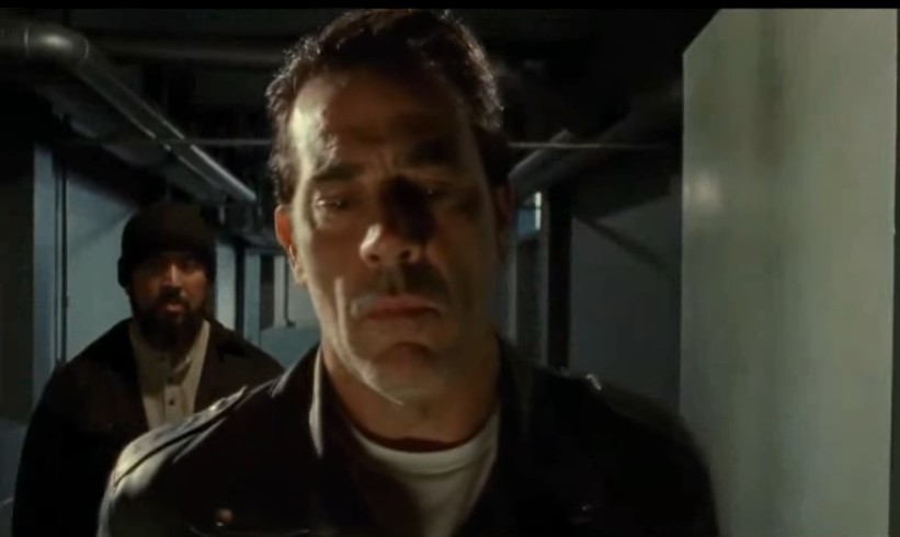 Image de Negan dans l'épisode 15 de la saison 7 de The Walking Dead
