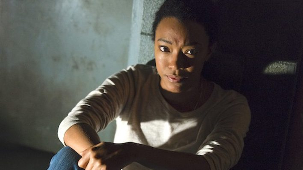 Image de Sasha dans l'épisode 15 de la saison 7 de The Walking Dead