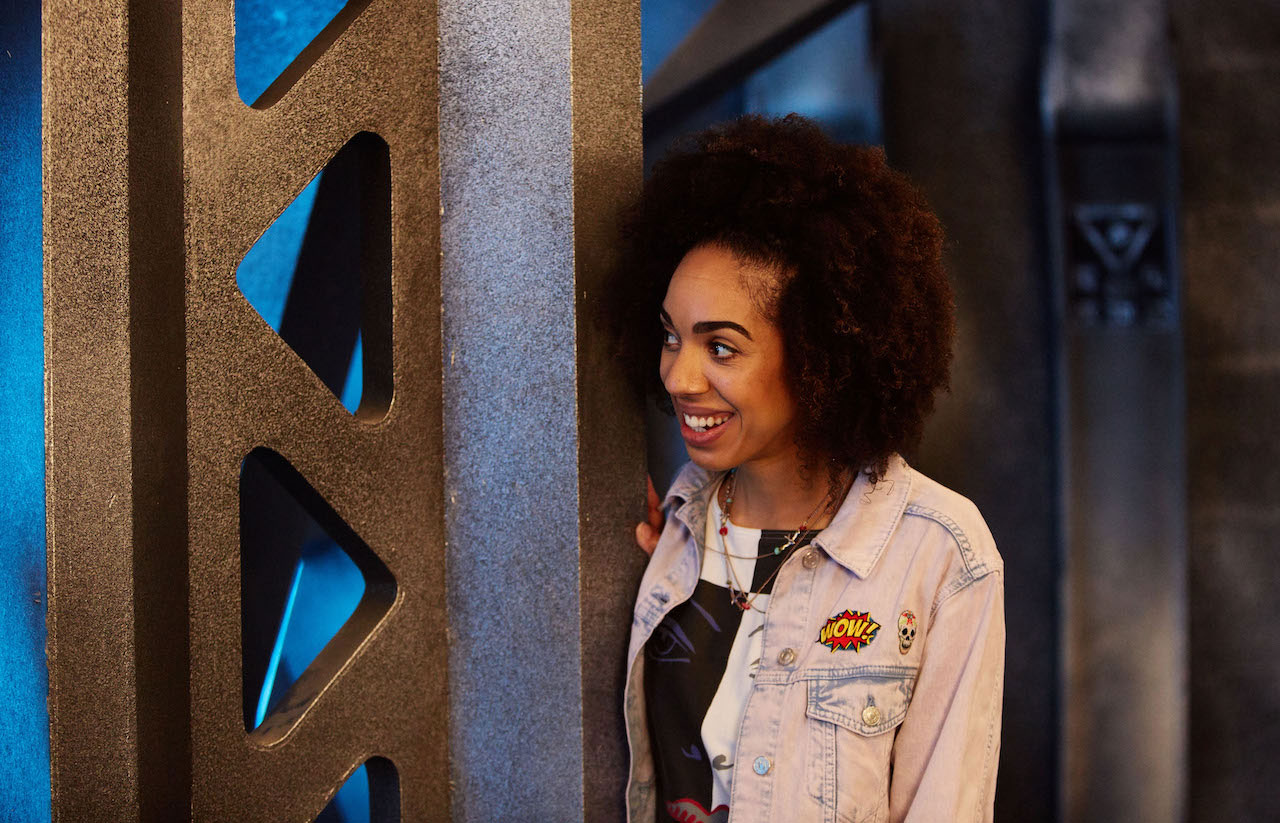 Pearl Mackie and Peter Capaldi talk about Bill Potts, the
