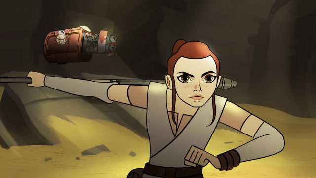 Rey dans Forces of Destiny