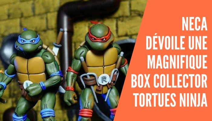 Neca dévoile une box collector Tortues Ninja comprenant son lot de figurine