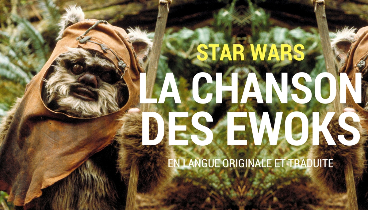 Camera Caché Star Wars : The ewoks song in star wars épisode vi : returns of the jedi pause