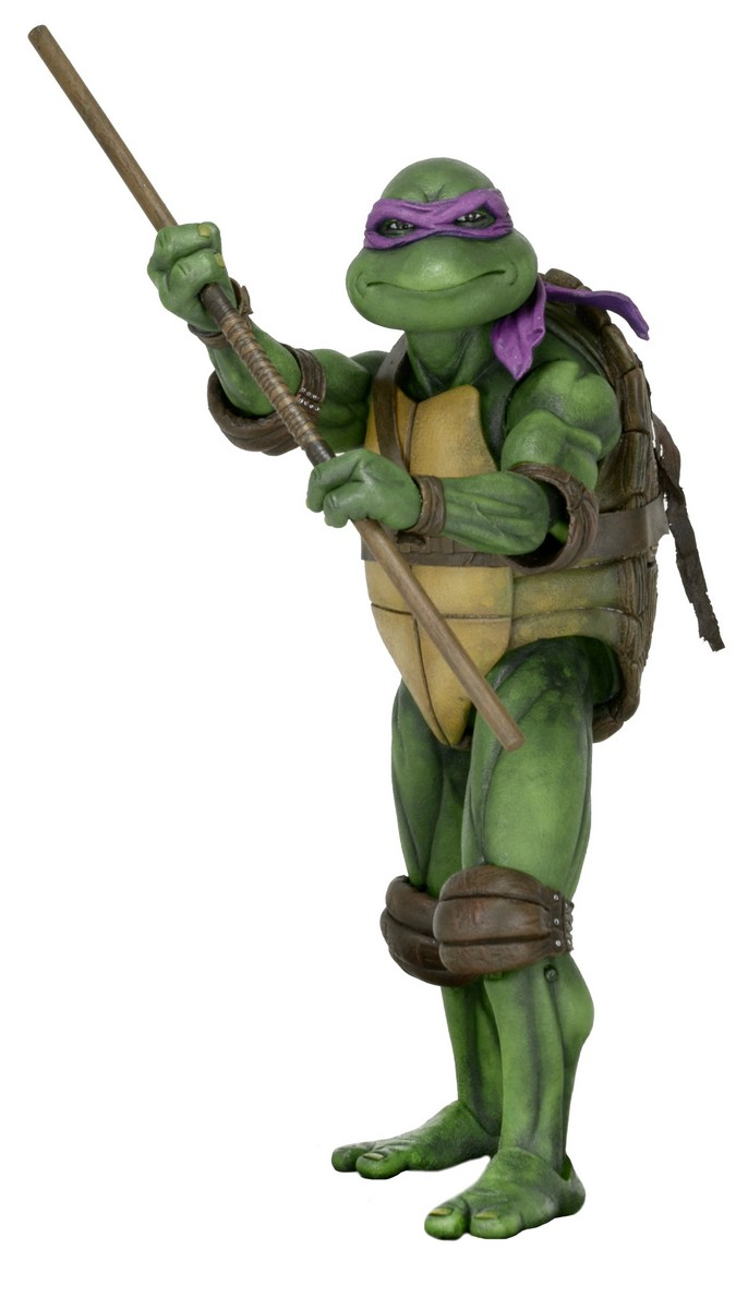 Teenage Mutant Ninja Turtles (1990) - Donatello 1/4 Scale Action Figure