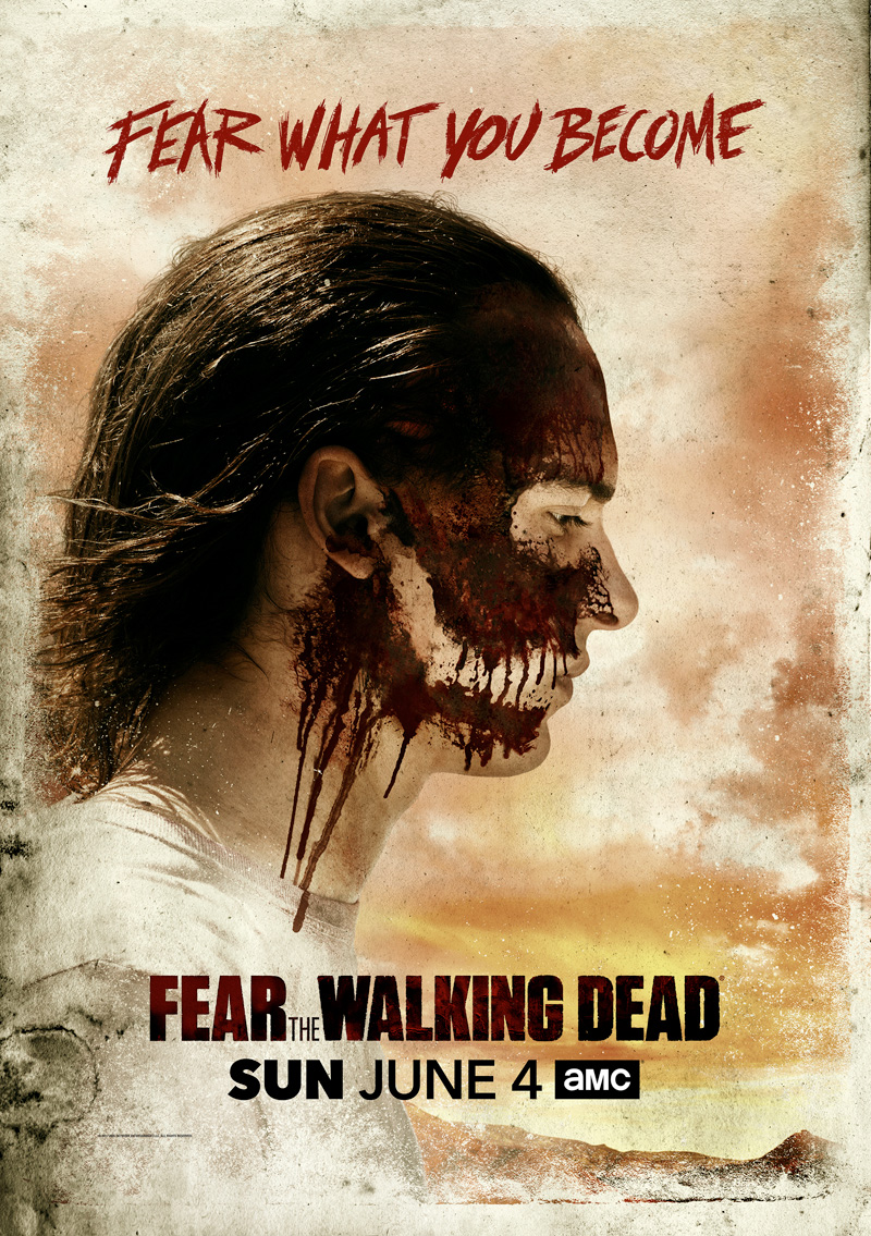 Affiche de la saison 3 de Fear The Walking Dead