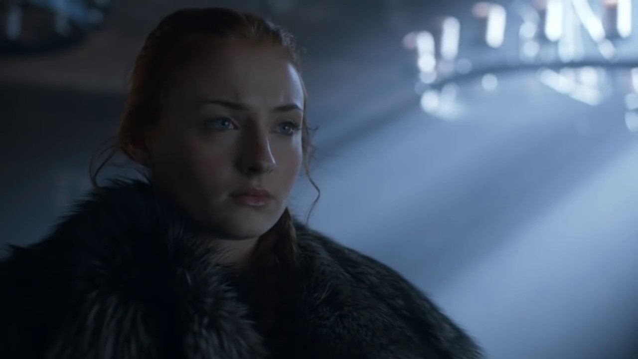 Image de Sansa Stark dans la saison 6 de Game of Thrones