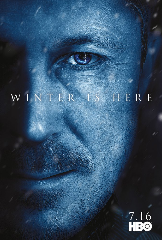 Affiche promotionnelle de la saison 7 de Game of Thrones représentant Littlefinger