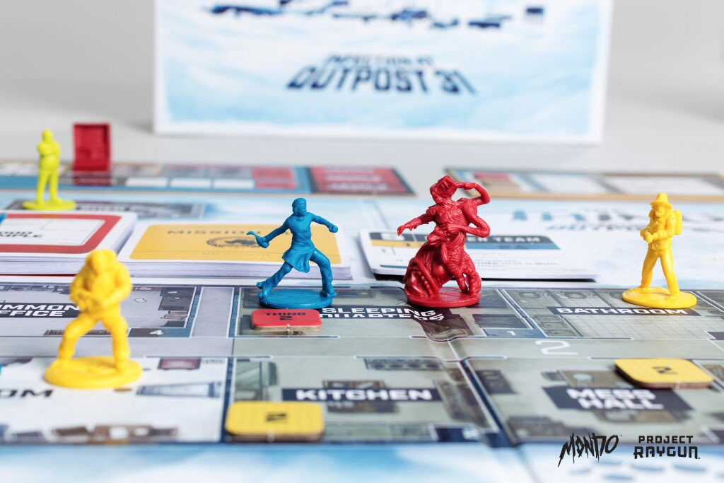 Image du jeu de plateau The Thing : Infection at Outpost 31