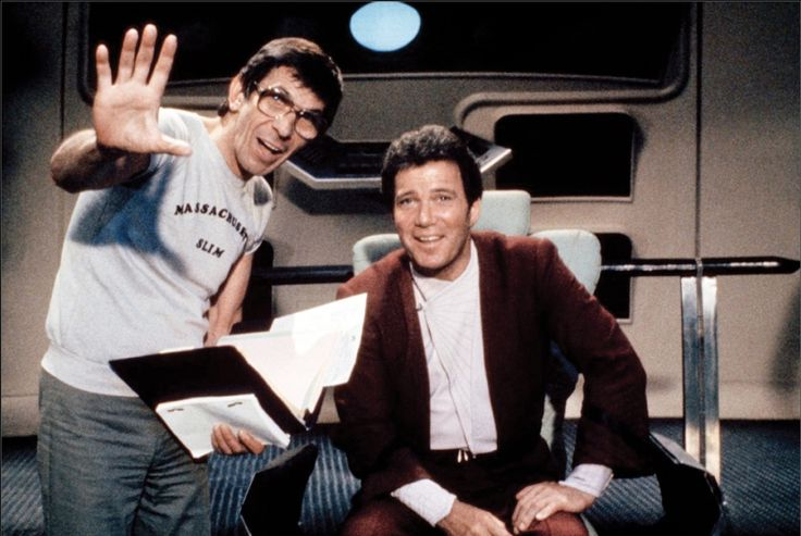 Star Trek : 30 photos qui reviennent sur l'amitié entre William Shatner et Leonard Nimoy