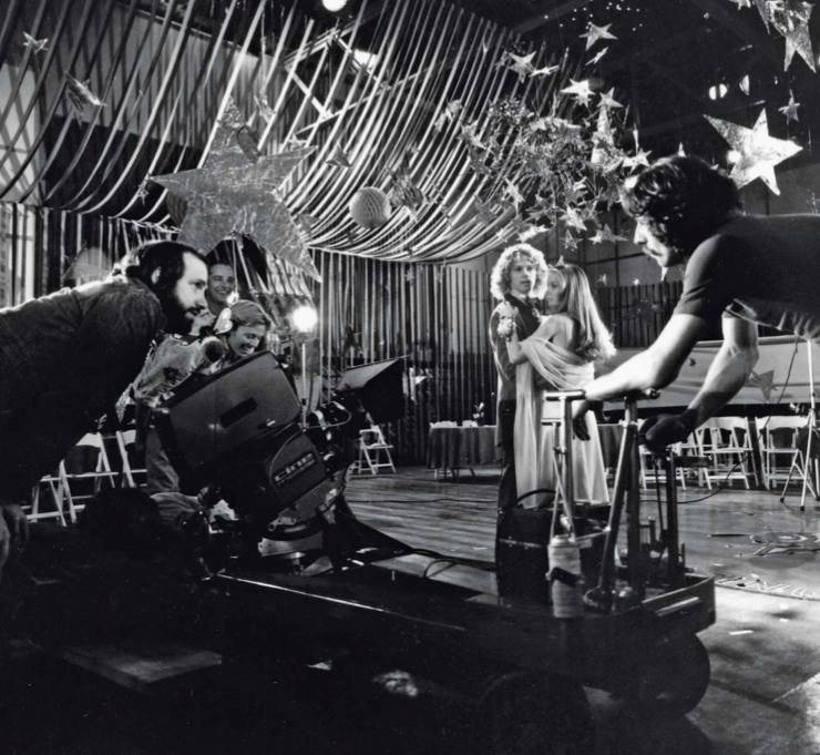 Image du making of de Carrie de 1977 de Brian de Palma