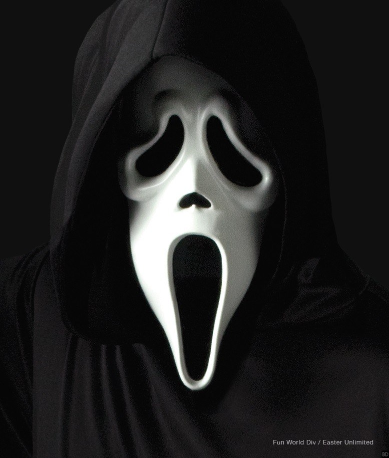 Image promotionnelle de Ghostface pour la saison 3 de Scream de MTV