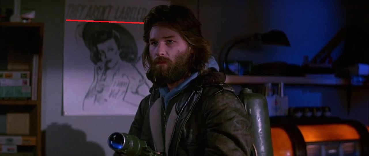 Image de MacReady dans le film The Thing de John Carpenter sorti en 1982