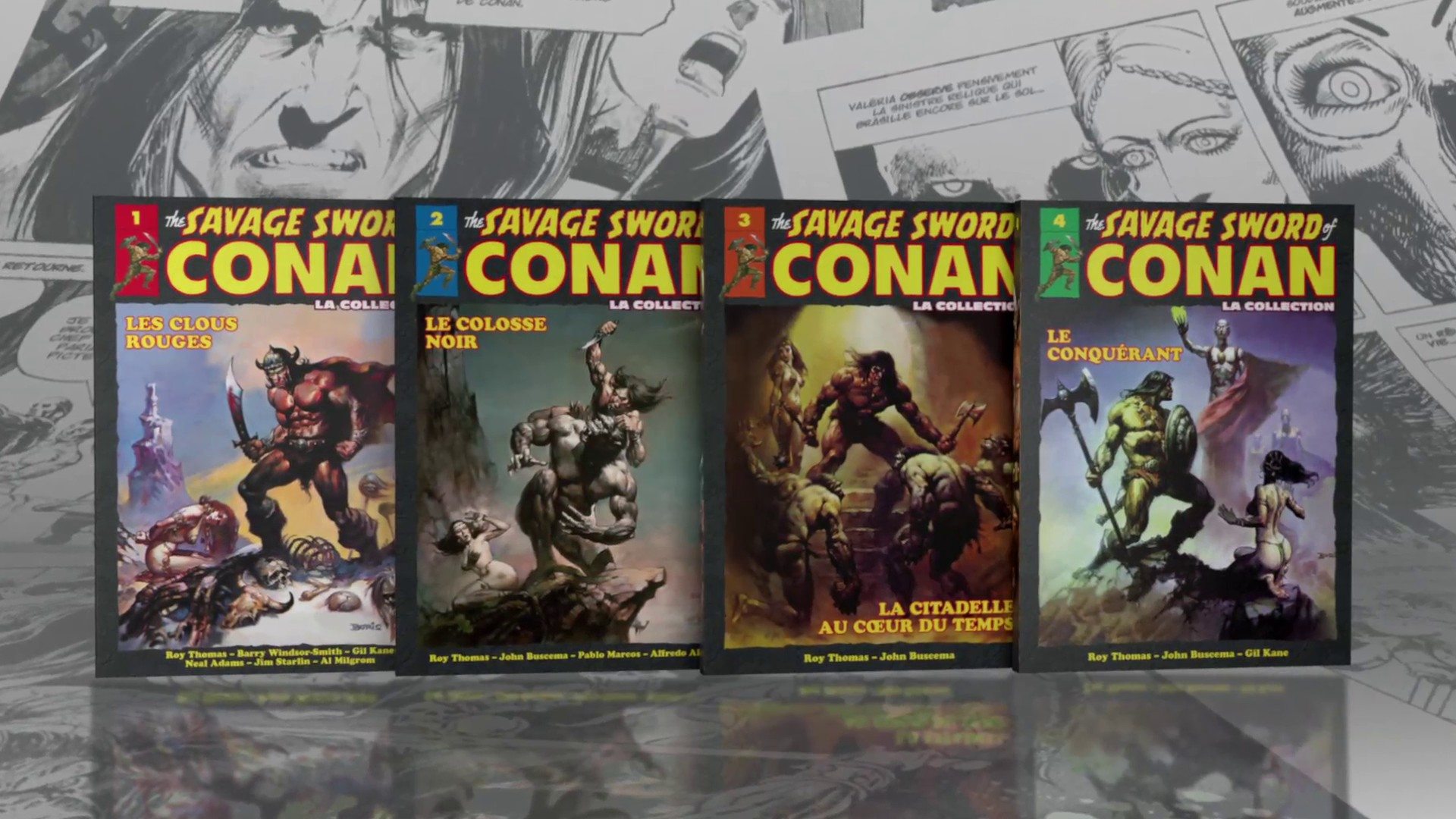 Image de la Collection Savage Sword of Conan aux éditions Hachette