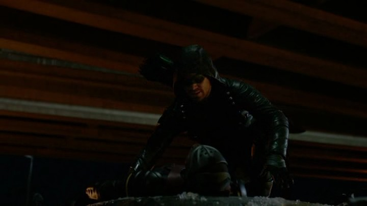 Image de Green Arrow dans le premier épisode de la saison 6 de Arrow