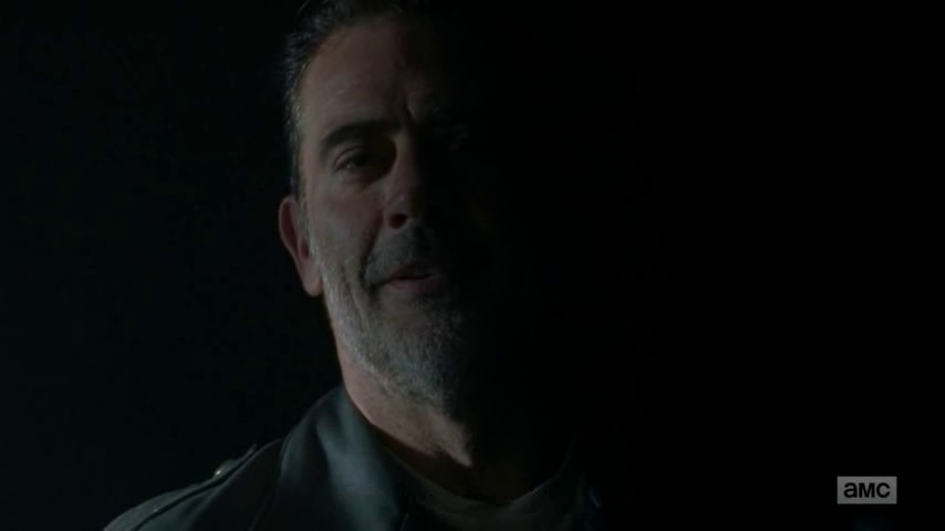 Image de Negan dans l'épisode 1 de la saison 8 de The Walking Dead