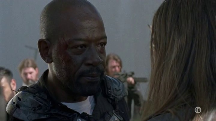 Image de Morgan dans l'épisode 2 de la saison 8 de The Walking Dead
