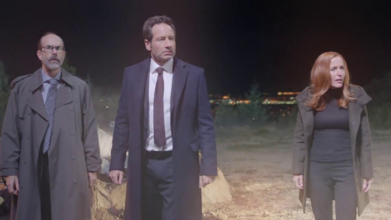 Image de Fox Mulder et Dana Scully dans la saison 11 de X-Files
