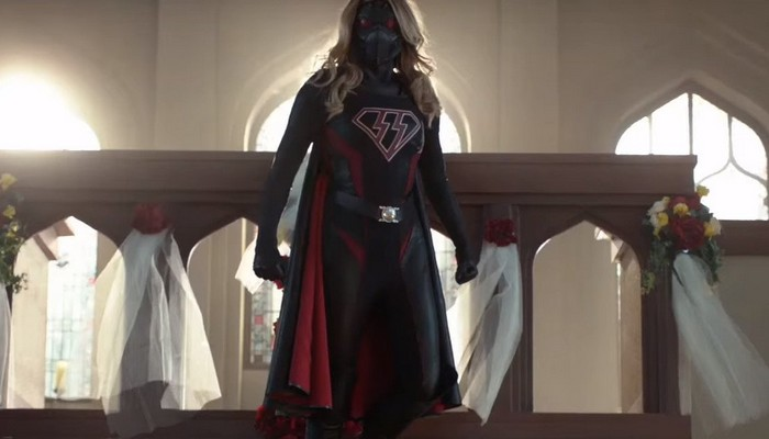 Image de Supergirl en nazi dans le crossover Crisis on Earth X