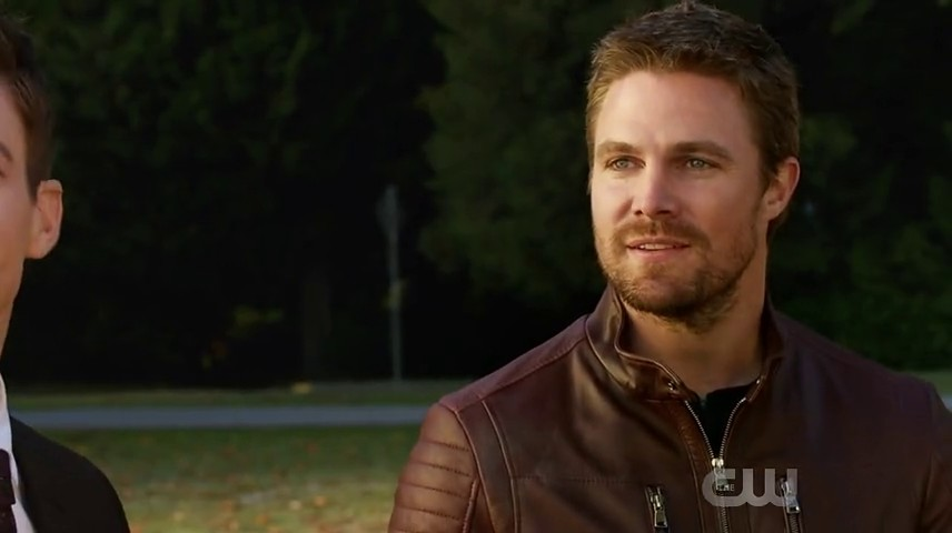 Image d'Oliver Queen dans l'épisode 8 de la saison 3 de Legends of Tomorrow