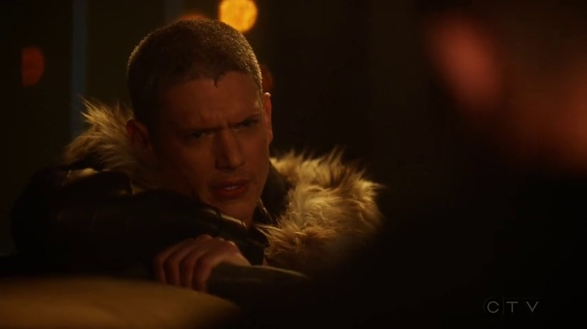 Image de Leonard Snart dans l'épisode 8 de la saison 4 de The Flash