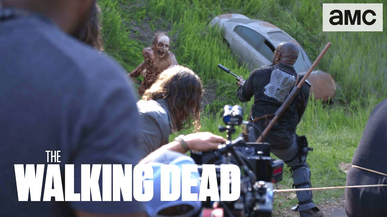 The Walking Dead 8x03 - Making Of