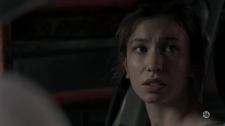 Image de Enid dans l'épisode 8 de la saison 8 de The Walking Dead