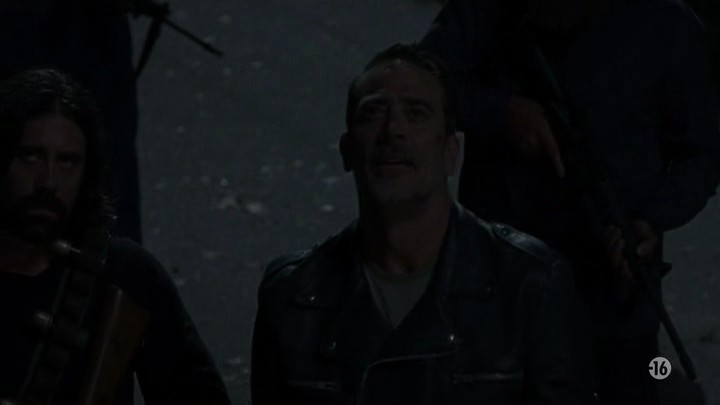 Image de Negan dans l'épisode 8 de la saison 8 de The Walking Dead