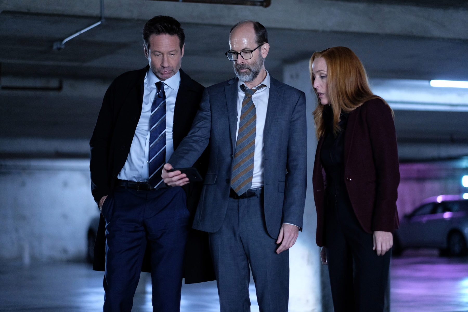 Image de Mulder et Scully et Reggie Something dans l'épisode 4 de la saison 11 de X-Files
