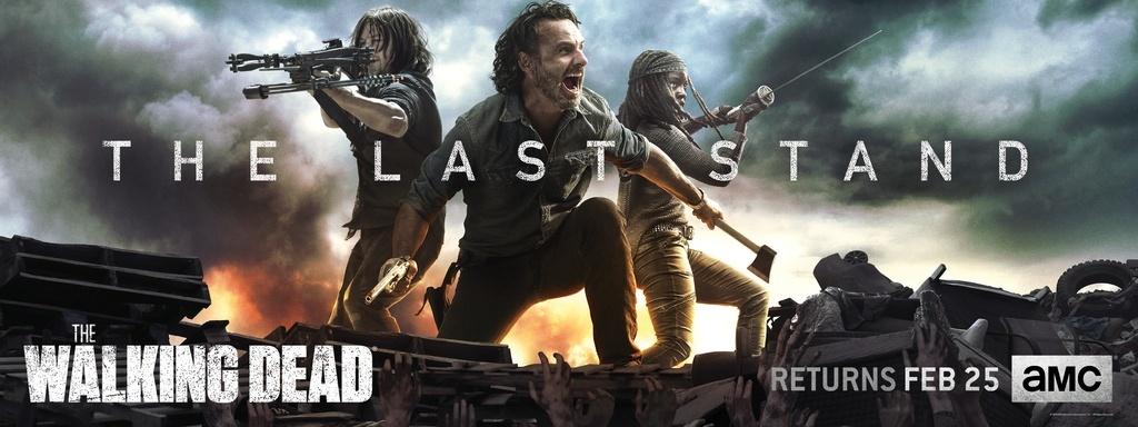 Image promotionnelle de la saison 8B de The Walking Dead