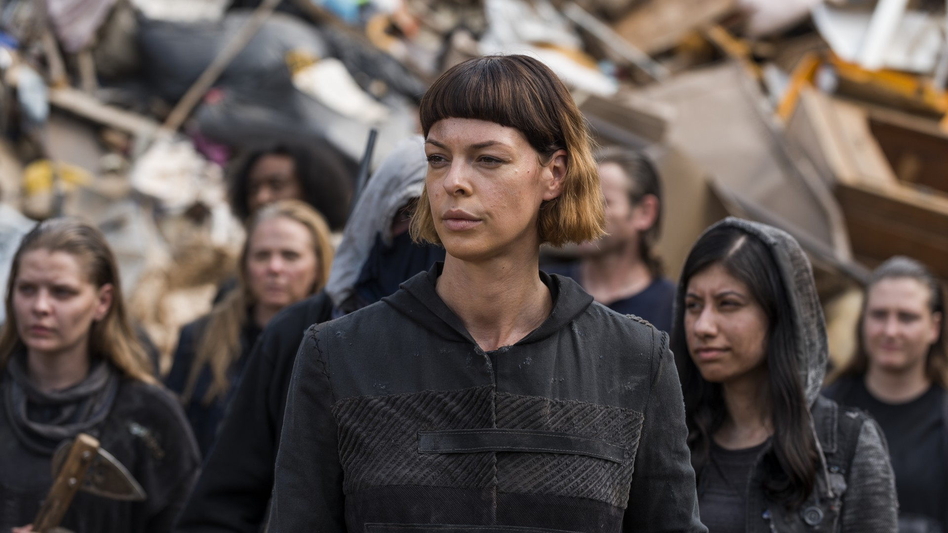 Image de Jadis dans l'épisode 10 de la saison 7 de The Walking Dead