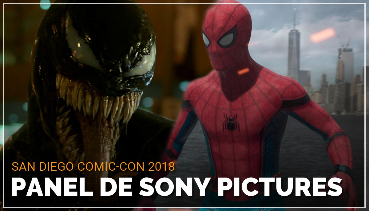 Panel de Sony Pictures au Comic Con de San Diego 2018