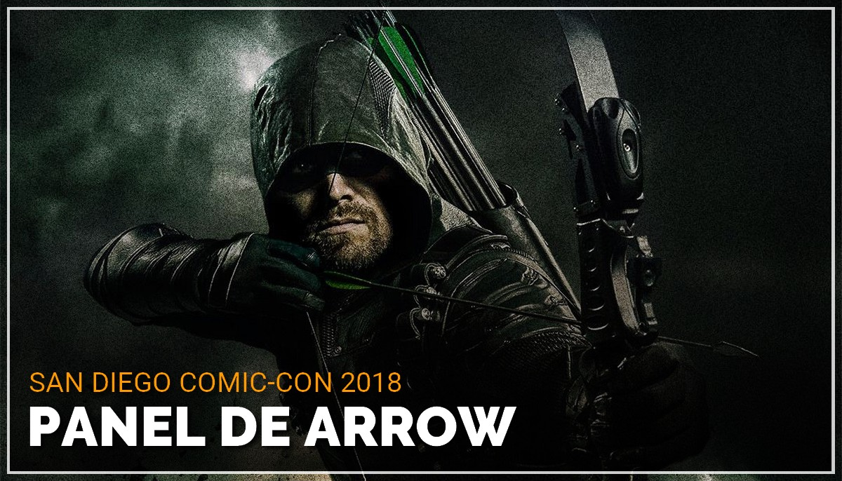 Panel de Arrow au Comic Con de San Diego 2018