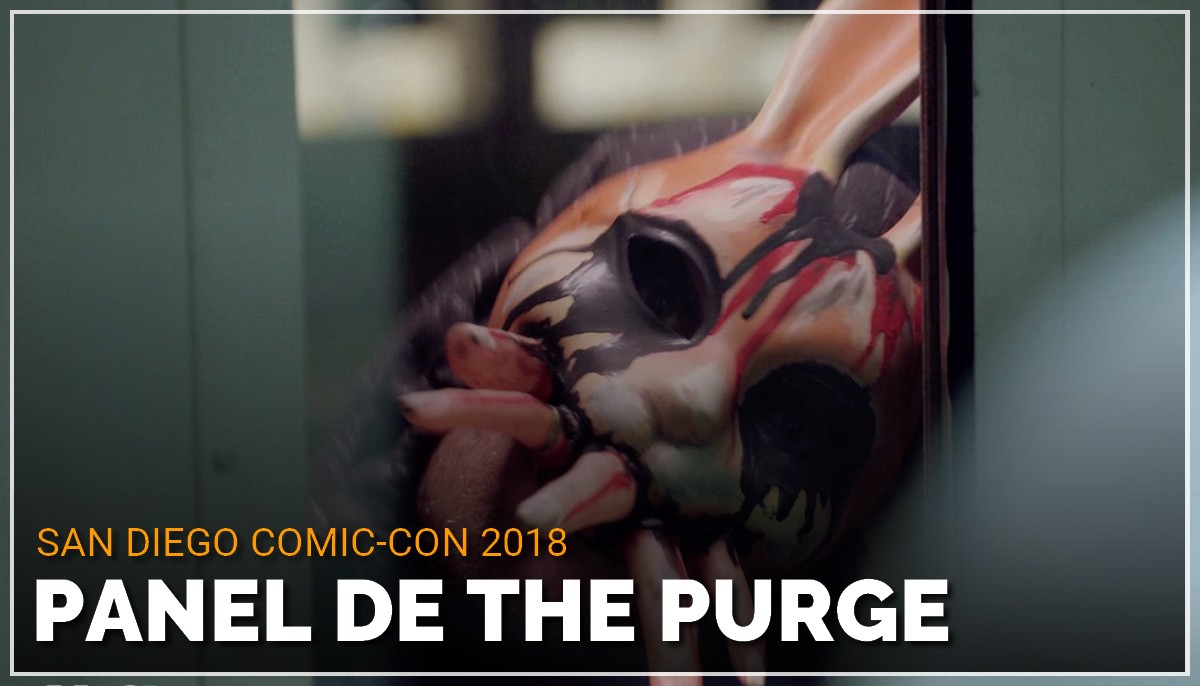 Panel de The Purge au Comic Con de San Diego 2018