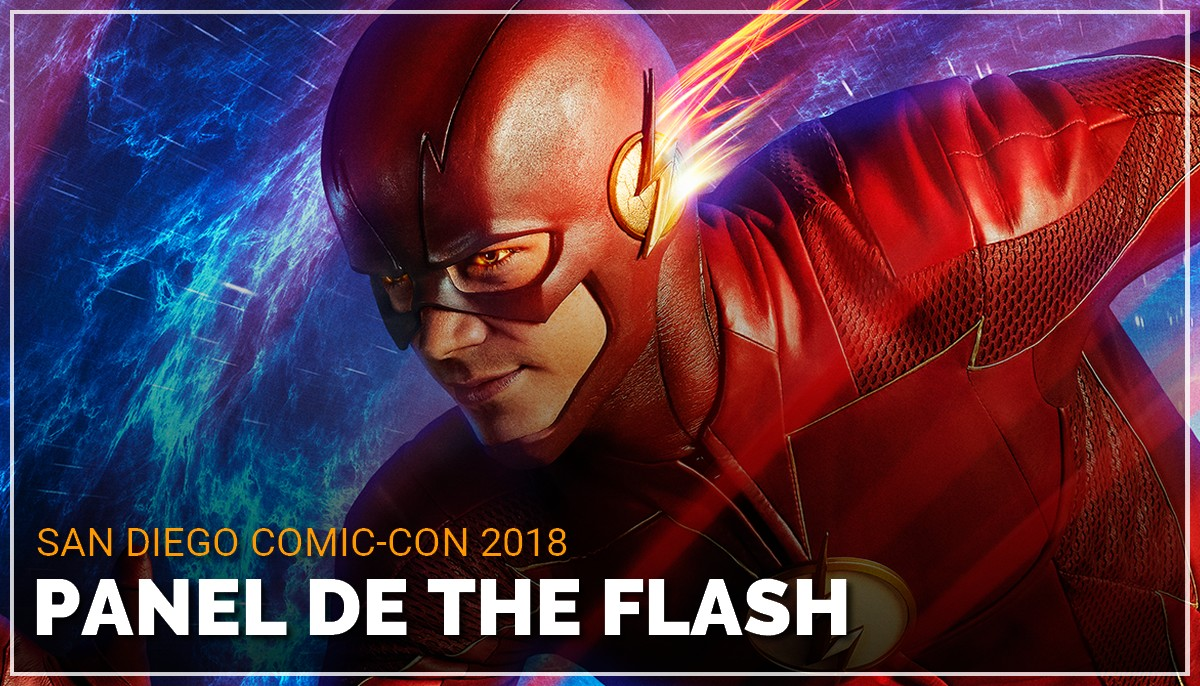 Panel de The Flash au Comic Con de San Diego 2018