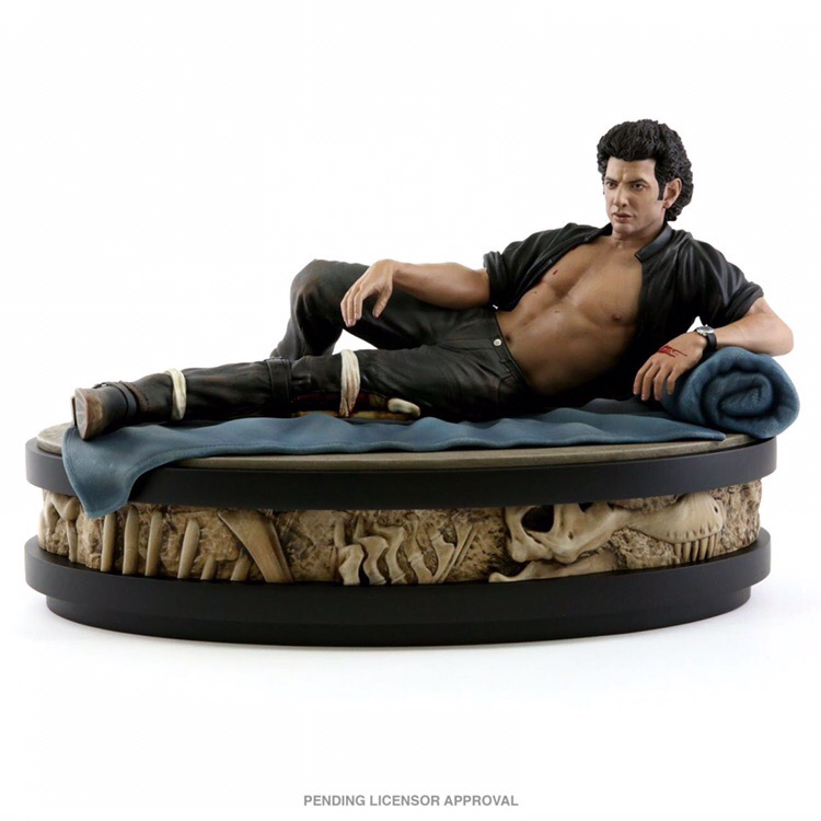 Figurine de Ian Malcolm de Jurassic Park par Chronicle Collectibles