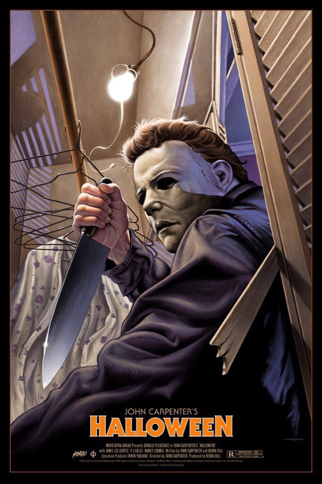 Fan art de Jason Edmiston représentant Michael Myers